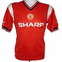 1984-1986 Manchester United Home Football Shirt Adidas Large (Excellent)