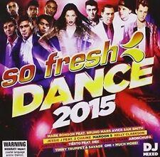 so Fresh Dance 2015 CD Australian Release