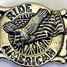 Gürtelschnalle Ride American Eagle Flag Buckle Adler Stars and Stripes USA Fahne