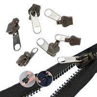 6×Sofortreparatursatz Universal-Zipper Rettung StartseiteSewingReißverschlu L0Z1