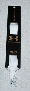 AUTHENTIC UNDER ARMOUR SHOELACES (WHITE)