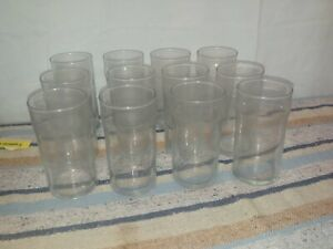 """12 anchor hocking clear drinking glasses 12 ounce.. 5"""""""