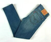 "Levis 510 Blue Denim Men's Jeans Actual Size W31"" L30"""