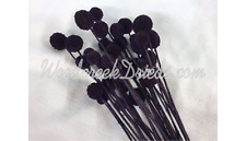 Dried Flowers Dyed Purple Plum Billy Buttons Craspedia Floral