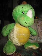 """GANZ WEBKINZ KEY LIME DINO Baby Plush Stuffed Animal Toy 9"""""""