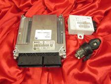 BMW E83 X3 series 2.0d M47N2 DIESEL ENGINE ECU SET DDE EWS4.3 IGNITION LOCK KEY