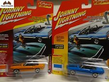 Johnny Lightning 1970 Shelby GT-500 Classic Gold R4 A&B - 18B
