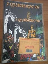 ZAGOR Quadernone e quaderno in blister RARI anni 90° no zenith n 1