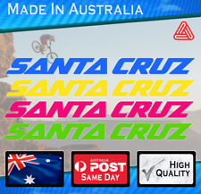 Santa Cruz style Frame Decals models 2016+ Mountain Bike Nomad Bronson stickers