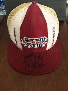 Joe Gibbs Washington Redskins Signed Vintage Super Bowl Hat NFL Autograph No COA