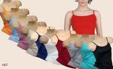 Damen Tank Top Hemd drüber + drunter Unterwäsche-Damenunterhemd Baumwolle