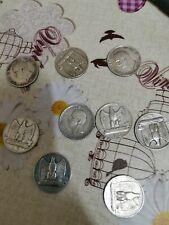 Lotto Di 9 monete 5 Lire Aquilotto Vittorio Emanuele III Argento