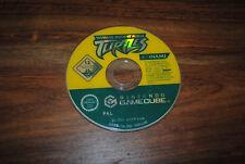 Jeu TEENAGE MUTANT NINJA TURTLES  sur Game Cube GC PAL (CD SEUL, remis à neuf)