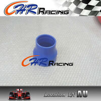 """2.5"""" to 3"""" inch Straight Silicone Hose Reducer 63-76mm Coulper pipe Blue L=76mm"""