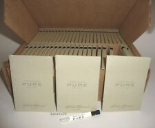 EDDIE BAUER PURE MEN 50 PACK CARD SAMPLE VIAL COLOGNE EDT (TOTAL=50ml / 1.7oz)
