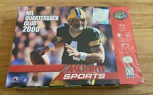 VINTAGE Video Game Nintendo 64 NFL Quarterback Club 2000 Acclaim NEW SEALED!
