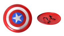 Kids 30cm Captain America Shield Costume Accessory Toy Superhero Avengers