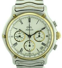 Ebel Chronograph Vintage Zenith El Primero 400 Stahl/Gold Ref.1134901 Fullset