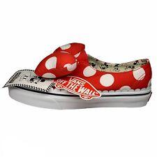 Disney x Vans Authentic Gore Skate Shoe Minnie's Mouse Bow US Women's 7M NIB