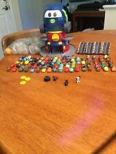 Disney Pixar Cars Squinkies Lot, Globie Dispenser, Mack Truck,Squinkies balls