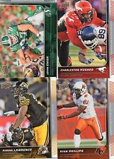 2015 Upper Deck CFL Defense Players Complete Your Set Pick from enclosed list