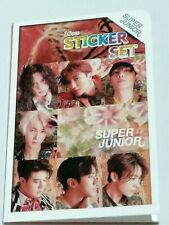 SUJU Super Junior Photo Sticker Set 16 Pcs KPOP DongHye SeongMin KyuHyun LeeTeuk