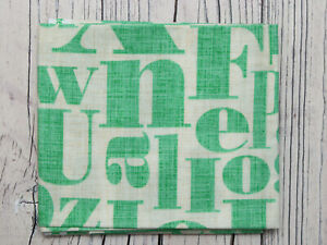 "Letterpress Fabric by Patty Young for Michael Miller Fabrics - 10"" x 21"""