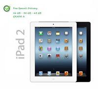 "Apple iPad 2 16GB 32GB 64GB Wi-Fi + Cellular 3G Unlocked 9.7"" Retina Display UK"