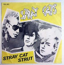 """Stray Cats Stray Cat Strut Single 7"""" Holanda 1981"""