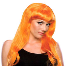 Glamour Wig long Straight Fashion Hair Deluxe Dress Up TV Party Halloween Witch