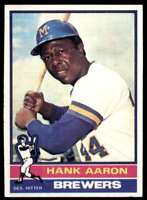 1976 Topps Set Break Mint Centered Hank Aaron #550