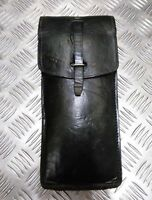 Genuine Vintage Military Issue Long Leather Ammo / Utility Pouch Various Shades