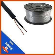 Comus Tour Grade Instrument Câble 6.5 mm Mono Flexible Noir 50 M Reel
