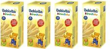 4 x Bebivita bear biscuit cookies Bärenkeks from the 8th months New from Germany