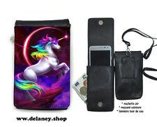 licorne chevaux 01-012 Pochette M téléphone mobile étui, housse, pouch
