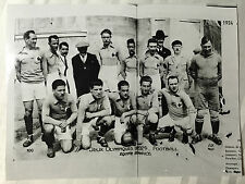 1924 press photo football olympics equipe de france 205