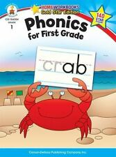 Early Education Flash Cards Set Kids Phonics for First Grade Grade 1 Workbook