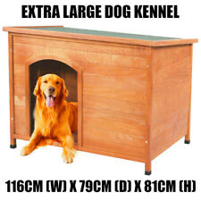 Extra Large Dog Kennel Kennels House Shelter With Removable Roof Easy Clean UK