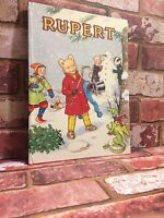 RUPERT ANNUAL - The Daily Express John Harrold 1989 VINTAGE COMIC STRIP - TBLO