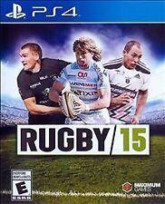 Rugby 15 (Sony PlayStation 4, 2015)