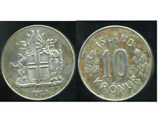 ISLANDE 10 kronur 1978  ( bis )