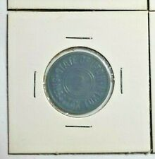 Vintage Utah Sales Tax Token 2 Green Plastic