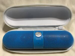 Beats Dr Dre Pill Blue Model B0513 **Not Working Does Not Charge Fix or Parts**