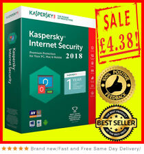 Kaspersky Internet Security 2018 1 PC/USER/Appareil/1 ans PC/Mac/Android