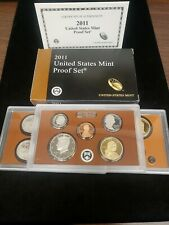 2011 United States Mint Proof Set Us Coins With Ob and Coa