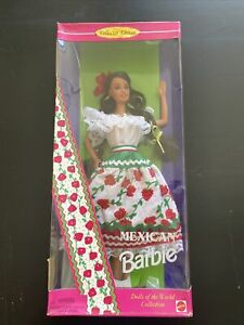 Mexican Barbie Doll From The Dolls of the World Collection