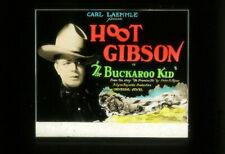 THE BUCKAROO KID '26 UNIVERSAL Silent Film WESTERN Movie Glass Slide HOOT GIBSON