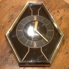 Vintage Maxim Quartz Wall Clock Working Retro 6 Sided
