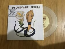 """Ray Lamontagne - Trouble - 2006 - Clear 7"""" Single - UNPLAYED - Discount 2+"""