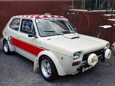 FIAT 127 SEAT ABARTH FENDER FLARES WIDE ARCH GROUP 2 KOTFLÜGELVERBREITERUNG